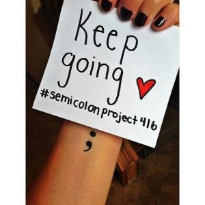 semi colon project