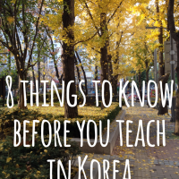 What I wish I knew before coming to Korea